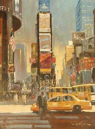 Walk Don't Walk New York by John Haskins