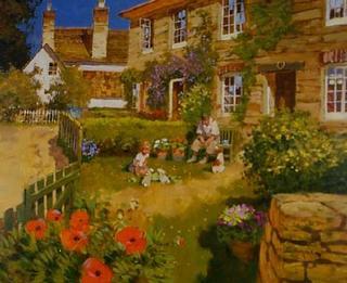 Poppy Cottage by John Haskins
