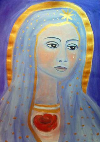 Verge amb Blau 5 by Susana Prats