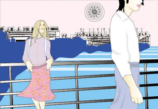 In the Shore I by Adriana Badariotti
