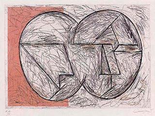 Masks (91) by Rafael Canogar