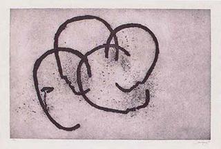 Heads nº 2-90 (133) by Rafael Canogar