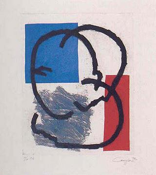 Untitled (175) by Rafael Canogar