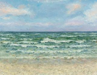 Sea at Midday by Anastasia Woron