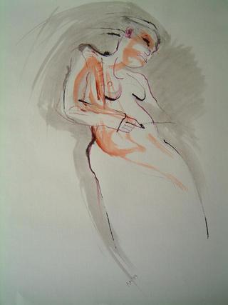 Dancing Nude by Alex Mackenzie