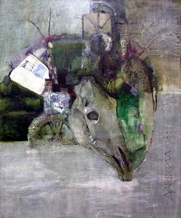 Mountain (Triptic Monticulo) I by Daniil Menshikov