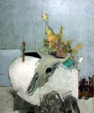 Stream (Triptic Monticulo) III by Daniil Menshikov