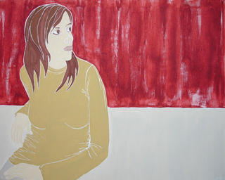 Self-portrait by Jaroslava Smutny