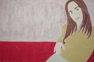 Self-portrait 2 by Jaroslava Smutny