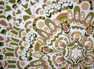Concentric V by Jaroslava Smutny