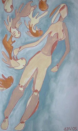 Floating by Jaroslava Smutny