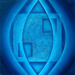 Blue Relic by Elin Bjorsvik