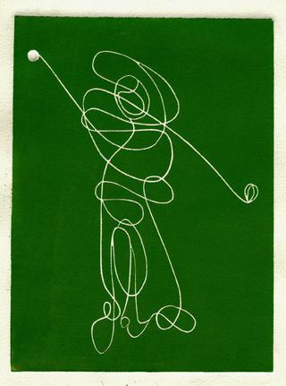 Swing (Green Series) by Luis Yngüanzo
