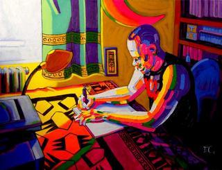 His Next Novel by Estefanía Córdoba