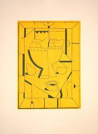 Yellow by Alfredo Alcaín