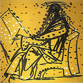 Mark (From 12 Apostle Suite). by Salvador Dalí