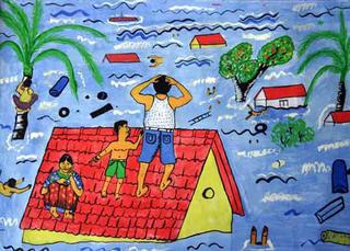 Untitled 4 by S.L.M. Fahmy (11th Grade) by ArtTsunami