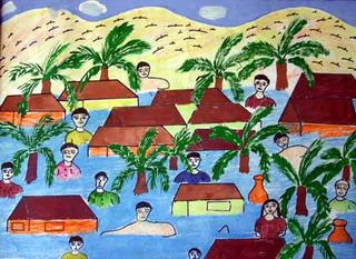 Untitled 9 by A.F. Rosana (11th Grade) by ArtTsunami