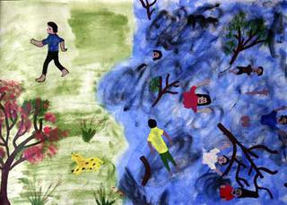 Untitled 10 by A.H. Fayasa (10th Grade) by ArtTsunami