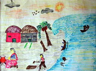 Untitled 43 by N.S. Athiya (9th Grade) by ArtTsunami