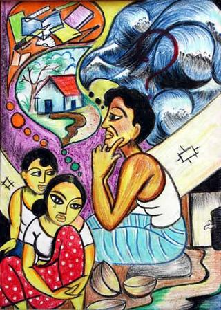 Untitled 45 by M.S.M. Manas (11th Grade) by ArtTsunami