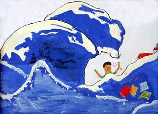 Untitled 47 by M.Z.M. Nifras (11th Grade) by ArtTsunami