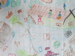 Untitled 63 by S.M. Raheem (8th Grade) by ArtTsunami