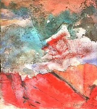 Landscape in Red by Pilar Bamba Gastardi