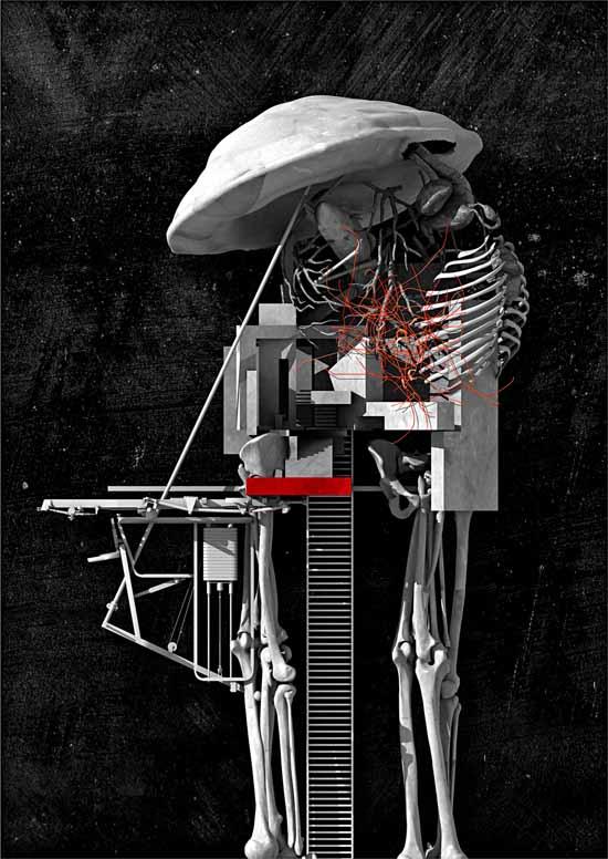 Surveillance Tower for Melancholic Soldiers by Emilio López-Galiacho