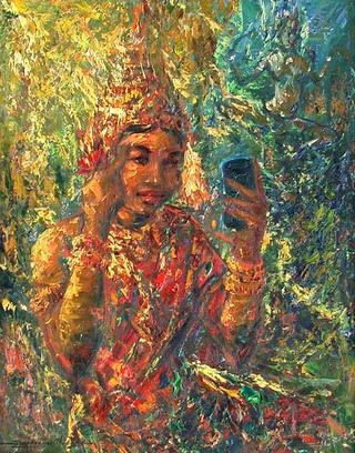 Apsara Dancer by Thu Sophannarith