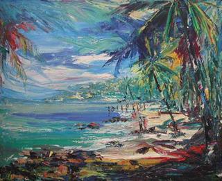 The Beach by Thu Sophannarith