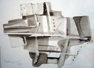Building- Artist´s Perspective by Dattatraya Apte