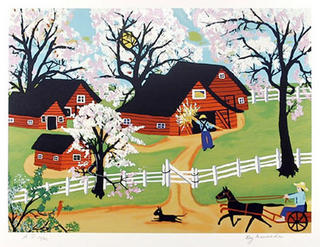 Apple Blossom Time by Kay Ameche