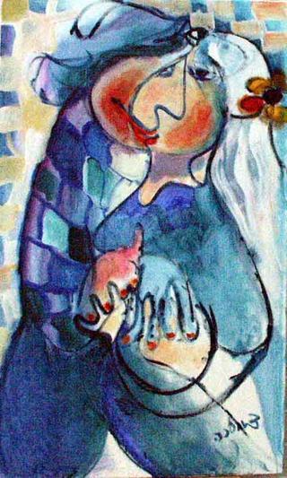 Love In Blue by Malka Tsentsiper