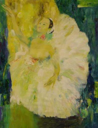 Green Dancer by Nguyen Trong Tai