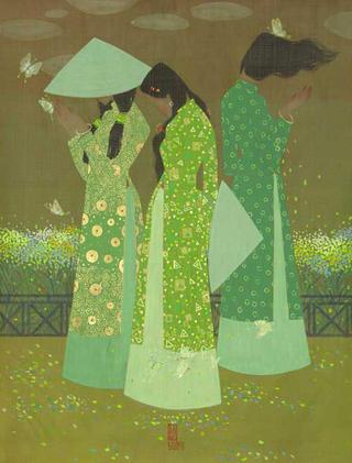The Four Seasons- Spring by Vu Tuan