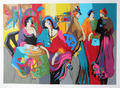 Cafe de Lion by Isaac Maimon