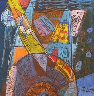 Abstract Thoughts 6 by Nguyen Trong Tai