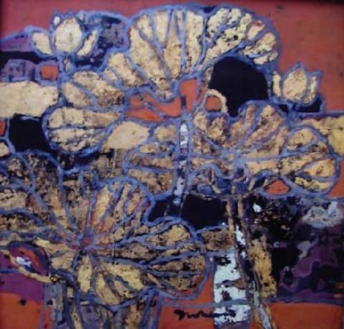 Lotus Leaves by Duong Sen