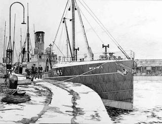 Trawler Monimia by Fred Kennett