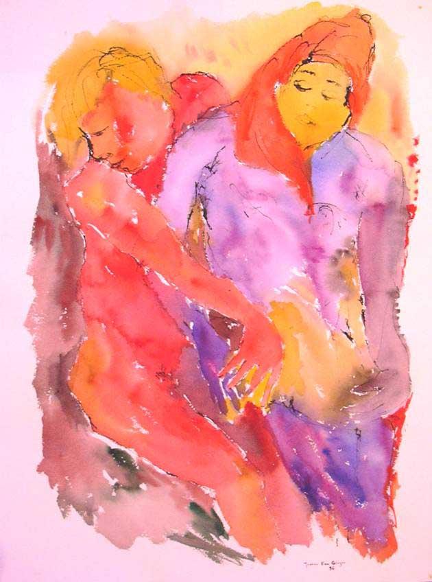 Untitled X by Joanna Ewa Glazer