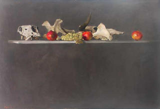Bones, Promegranates and Grapes by François Legrand