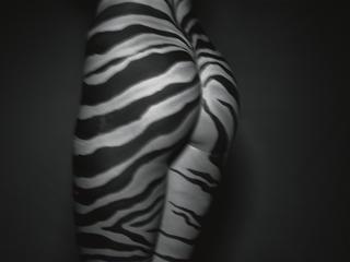 Zebra Ass by Bob Carlos Clarke