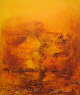Orange Thoughts by Helen Walliser