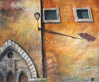 Street Shadows--Rome by Adrielle