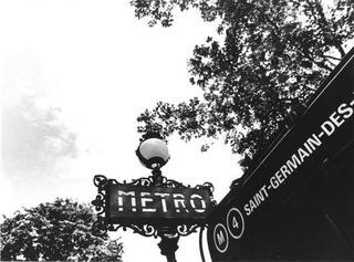Paris, Metro de Saint Germain des Prés by Tiziano Micci