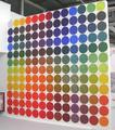 Colour Code Chart (Made of 143 Prints) by Annabel Barber