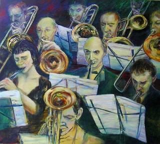 Orchestra by Sylva Zalmanson