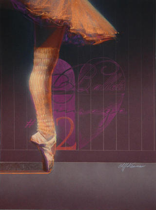 Ballet Image #3 by Cliff Kearns