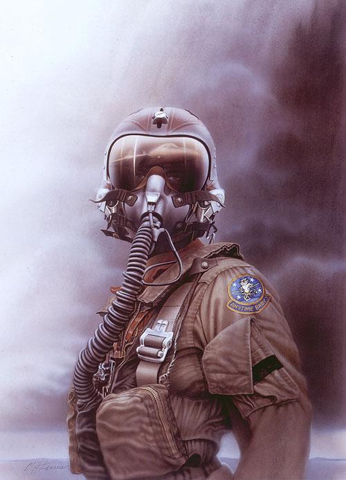 The Pilot Original Art By Cliff Kearns Picassomio